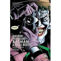 Hq Batman - A Piada Mortal - Novo E Lacrado - Alan Moore