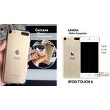 Ipod Touch 6 Carcasa+lamina De Vidrio