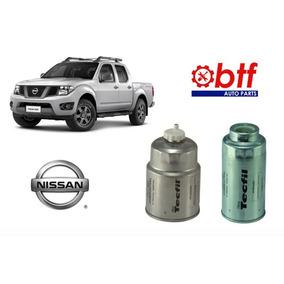 Kit Com Dois Filtros Combustível Nissan Frontier 2008/2012