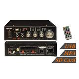 Amplificador Stereo 30w Mp3 Sd Usb Mekse ( Envío Gratis )