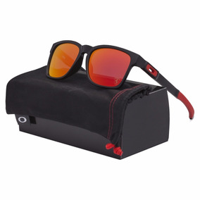 Oakley Catalyst Ferrari Matte Black - Ruby Iridium Oo9272-07