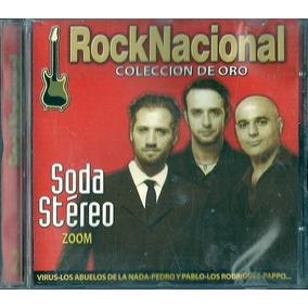 Rock Nacional 2 Soda Stereo Virus Los Abuelos De La Nada Cd