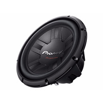Subwoofer Pioneer Doble Bobina W311d4 Champion 1400w 12 Plgs