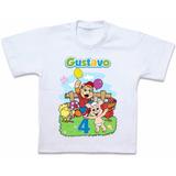 Camiseta Cocoricó Blusa Personalizada Roupas