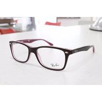 Armação Óculos Acetato Ray-ban Rb 5228 2126 Original