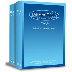 Farmacopéia Brasileira 5ed Em 2 Volumes (ebook)