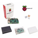 Raspberry Pi 3 Model B 1.2 Ghz 1 Gb + Case + Disipadores