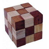 Rompecabezas Cubo 3d Madera