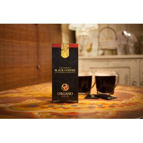 Café Negro Gourmet Orgánico Ganoderma Lucidum Organo Gold