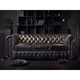 Sillon Chesterfield Sofa Chester Sillones Muebles Sillas