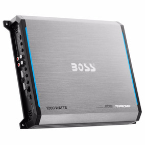 Potencia Boss 1200w 4 Canales Puenteable Rgf-1200