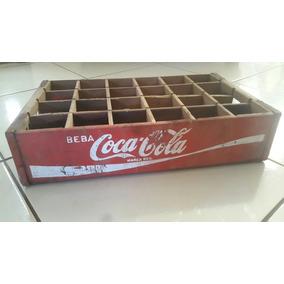Engradado Coca Cola Antiga Madeira