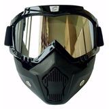 Máscara De Protección Cycle Gear Cg03 + Regalo