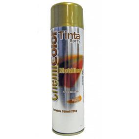 Tinta Spray Cor Ouro Metálico 350ml Chemicolor