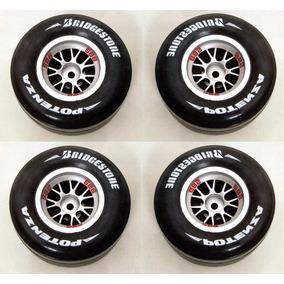 4 Rodas E 8 Pneus Para Ferrari 2004 Kyosho Planeta Deagostin