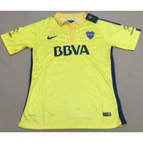 Camiseta Boca Juniors Alternativa Amarilla 2015 Authentic