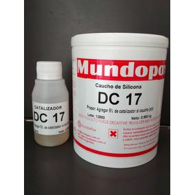 Caucho De Silicona Mundopox Dc-17 Para Moldes X 1 Kg.