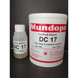 Caucho De Silicona Mundopox Dc-17 P/ Cemento Y Yeso X 1 Kg.