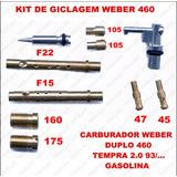 Kit Giclegem Carburador Tempra 2.0 Gas Weber Duplo 460