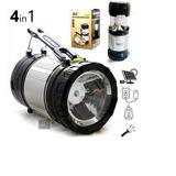 Lanterna Solar Recarregável Luz Nvpro Versátil Zm-9599