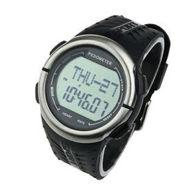 Relógio Medidor Batimento Cardíaco Monitor Calorias Corrida