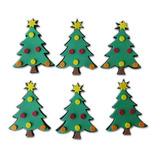 Eva - Árvore De Natal Kit Com 6