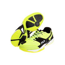 Zapatillas Fila Tenis Icon Plus Hombre Amarillo C/negro