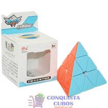 Puzzle Pyraminx Cyclone Boys V2 Colorida Pirâmide Mágica