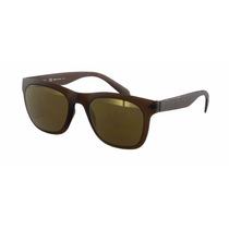 Óculos De Sol Calvin Klein Marrom Ck3163s 242 Novo