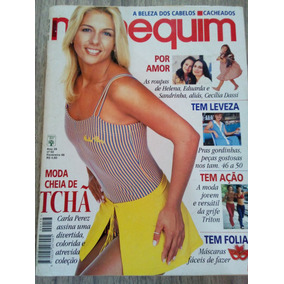 Manequim Ed:458 - Carla Perez - Cecilia Dassi ( Com Molde)