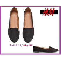 Zapatos Bailarinas Marca H&m Talla 37