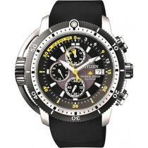Citizen Eco-drive Prom Aqualand Chron Divers Bj2127-16e