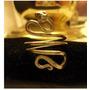 Anillo Egipcio Serpiente Oro Macizo 18k Comprado En Africa