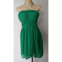 Vestido Zara Verde 42-44