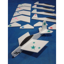 Pipa Avião Isopor 10ps,festas Aniversario Escola Eventos