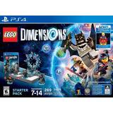 Lego Dimensions Starter Pack Ps4 + Supergirl Original Nuevo