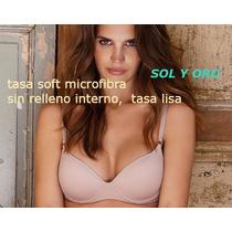 Corpiño Sol Y Oro Tasa Soft Microfibra