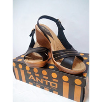 Sandalias Para Dama Con Tacon Elegante Ultima Moda