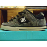 Zapatillas Dc Shoes Pure Negro Y Verde Camo (skate Shoes)
