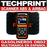 Scanner Automotriz Obd2 Abs Airbag Lee Programa Borra