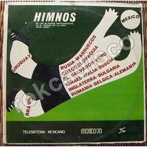 Documental,himnos D Los Participantes,copa Jules Rimet,lp12´