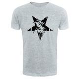 Camiseta Sepultura - Cinza - Metal Rock Banda Camisa Trash