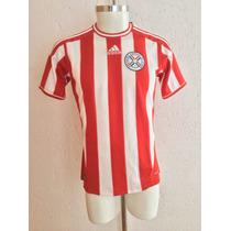 Jersey Selección Paraguay Local Temporada 2011-2013 Adidas