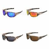Óculos Polarizado Para Pesca Camuflado Lente Várias Cores