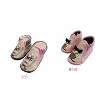 Botas Con Suela Antiderrapante Baby Room. Disponibles 1-4