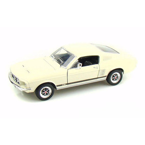 Auto De Colección Metal 1967 Ford Mustang Gt 1:24 Welly