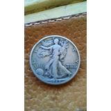 Half Dollar De Plata Americano De 1942