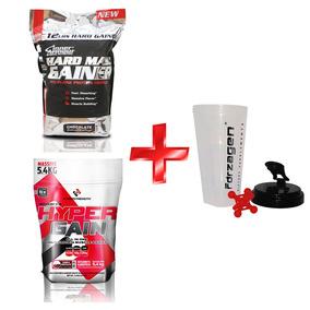 Kit Mega Mass Proteina Hypergain +1 Shaker Nutrition Systems
