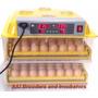 Incubadora Digital Volteo Automatico 96 Eggs Ptyimport