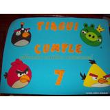 Cartel De Bienvenida Angry Birds